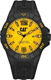 CAT Karbon Men's Watch Yellow Dial 45.5 MM Black Silicone K1.121.21.731