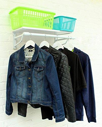 The Shopfitting Shop Blanco 3 m de Ancho (900 mm) montado en ...