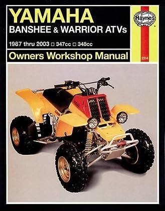 yamaha 350 warrior owners manual sample user manual u2022 rh ctsedu us 1995 Yamaha Warrior 2001 yamaha warrior service manual