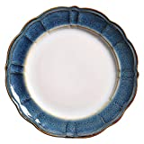 QPGGP-Plate European Style Western-Style Dishes, Special-Shaped Steak Dishes, Home Dishes, Large Plates, Chicken Dishes, and Simple Ceramic Tableware,B