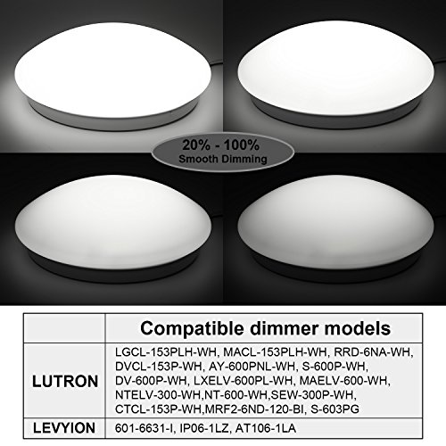 1-PACK2-PACK-Dimmable-12-Inch-LED-Flush-Mount-Ceiling-Light-16W5000K-Daylight-120V-ETL-listed-Ceiling-Light-Fixture-