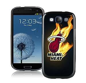 New Custom Design Cover Case For Samsung Galaxy S3 I9300 Miami Heat 2 Black Phone Case