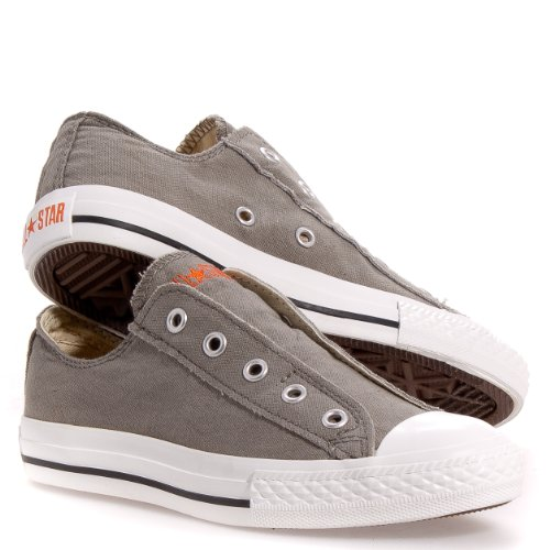 Converse Kids Unisex Chuck Taylor All Star Core Slip (Little Kid)  Charcoal White Sneaker 13 Little Kid M - Buy Online in UAE.  d992bf1b5