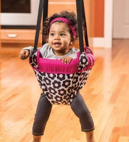 NEW Evenflo Johnny Jump Up Marianna Door Doorway Baby Jumper Jump Up Exerciser from Baby Jumping