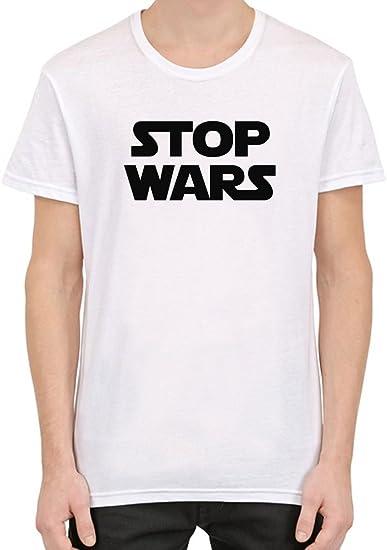 Stop Wars Star Wars Camiseta Personalizada Impresa para Hombres ...