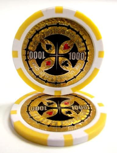Get 1 Free 25 Red $5 Coin Inlay 15g Clay Poker Chips New Buy 2