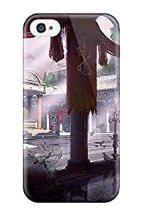 Julian B. Mathis's Shop Christmas Gifts Tpu Phone Case With Fashionable Look For Iphone 4/4s - Assassins Creed