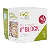"AccuQuilt GO! Qube Mix & Match 8"" Block with"