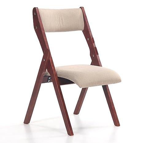 silla plegable Sillas plegables de madera Sillas plegables ...