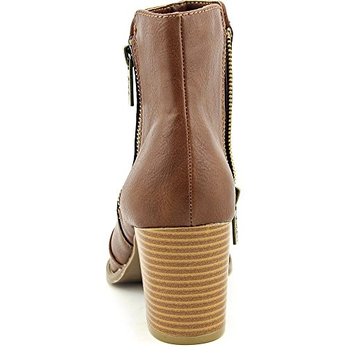 Mari A. Axle Women US 8 Brown Peep Toe Ankle Boot sQhzmeTg