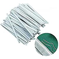 200pcs Nose Bridge Strips for Face Cover,Nose Bridge Wire Bracket for DIY Face Cover, Strips Straps Adjustable Nose Clips Face Cover Wire Face DIY Making Accessories for Sewing Crafts