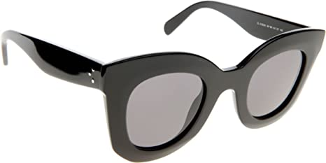 72d3f316a9f2 Image Unavailable. Image not available for. Colour  Celine 807BN Black Baby  Marta Cats Eyes Sunglasses ...