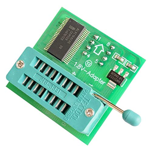 10PCS//LOT 1.8V Adapter for iPhone or Motherboard 1.8V SPI Flash SOP8 DIP8 W25 MX25 use on Programmers TL866CS TL866A EZP2010