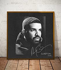 Drake Scorpion Album Limited Poster Artwork  The sizes available include 8x10, 11x14, 16x20, 20x24. Sizes are in inches. - This limited print is printed to ship at a professional photo lab - The print itself is a high quality glossy art print...