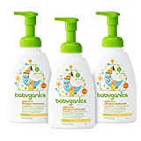 Babyganics Baby Shampoo Plus Body Wash, Orange Blossom, 16-Ounce Pump Bottle (Pack of 3)