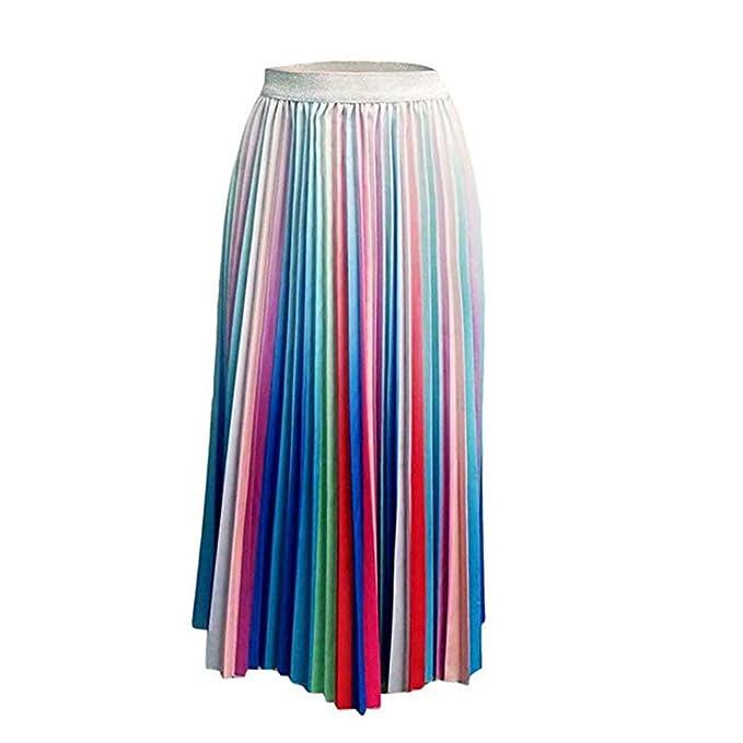 Faldas Larga Plisada Fiesta Elegante Sexy 💖QIjinlook💖Faldas ...