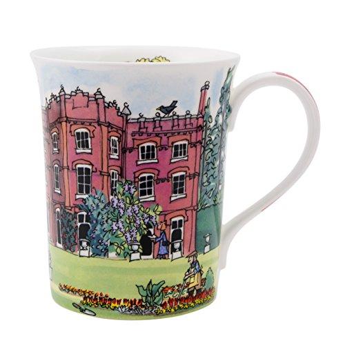- Alison Gardiner National Trust range - Hughenden Manor Fine Bone China Mug