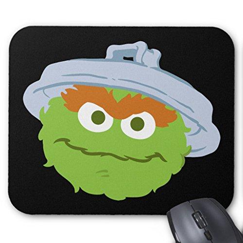 Zazzle Oscar the Grouch Face Mouse Pad ()