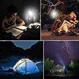 Solar Lantern Flashlights, USB Rechargeable Camping