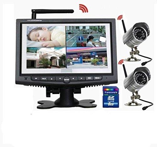 5 opinioni per Sistema Completo Videosorveglianza Wireless 2 Telecamere con Infrarossi +