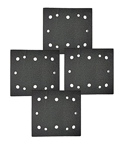 Ryobi S652DK 1/4 Sheet Double Insulated Sander (4 Pack) Replacement Pad Assembly # 039066005023-4pk (Sheets Ryobi Sanding)