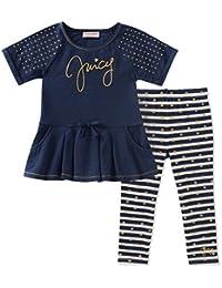 Girls' Fashion Top and Legging Set