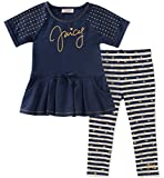 Kyпить Juicy Couture Baby Girls 2 Pieces Tunic Set, Navy/Gold Dot, 18M на Amazon.com