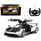 1/14 Scale Pagani Huayra BC Radio Remote Control Model Car R/C RTR Open Doors (Silver)