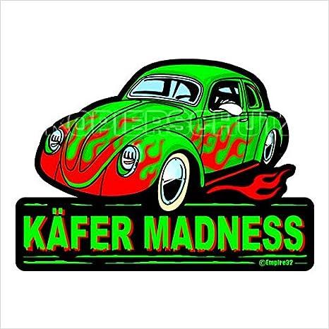 503 King Kerosin Käfer Madness Aufklebersticker Usw
