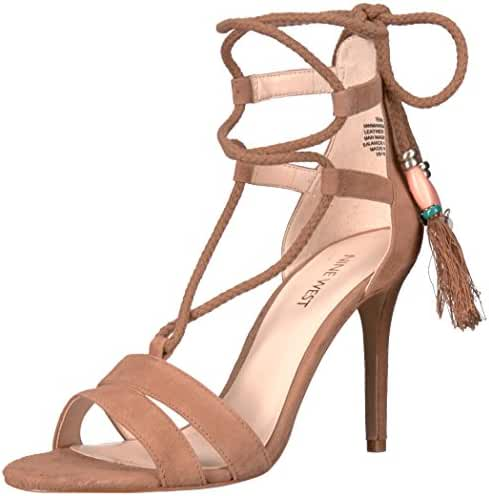 Nine West Women's Mangalara Suede Dress Sandal