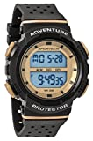 SPORTECH Unisex | Black & Gold Digital Water-Resistant Sports Watch | SP12705