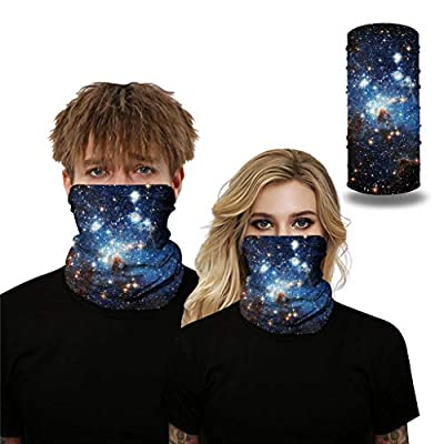 Bandana for Women and Men, Seamless Rave Bandana Neck Gaiter Tube Headwear Bandana, Motorcycle Face Bandana for Women Men at  Men's Clothing store
