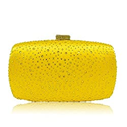 Diamond Minaudiere Clutch Bag