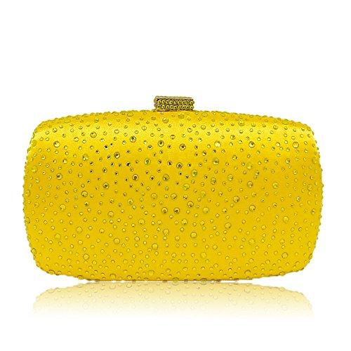 Diamond Women Evening Handbags Purse Minaudiere Clutch Bag
