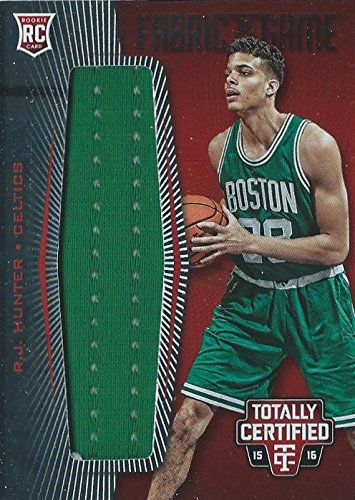 2015-16 Totally Certified Rookie Fabric of the Game Jerseys Red #26 R.J. Hunter /199