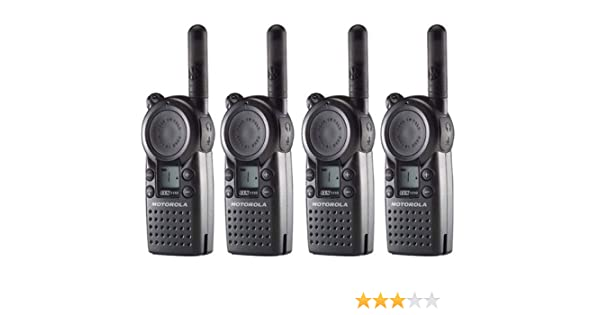 12 Pack of Motorola CLS1110 Two Way Radio Walkie Talkies