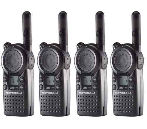 Motorola CLS1110 Professional UHF Two-Way Radio Walkie Talkie (4-Pack) by Motorola
