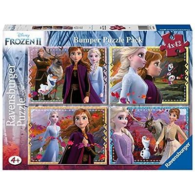 Ravensburger Frozen 2 Puzzle 4x42 Bumper Pack 05023