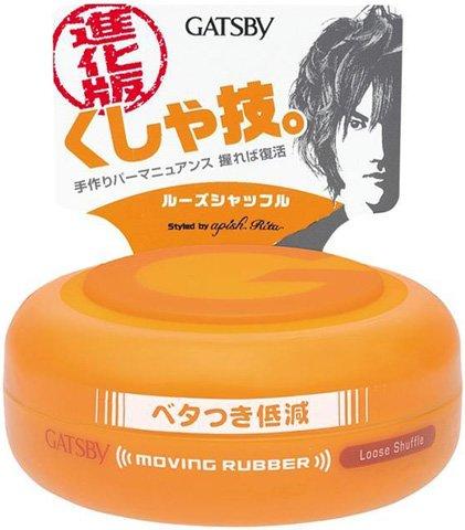gatsby-japan-hair-wax-moving-rubber-loose-shuffle-80g