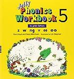 Jolly Phonics Workbooks 1-7 In Print Letters