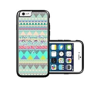 RCGrafix Brand Geometric Pattern Diamond Aqua iPhone 6 Case - Fits NEW Apple iPhone 6