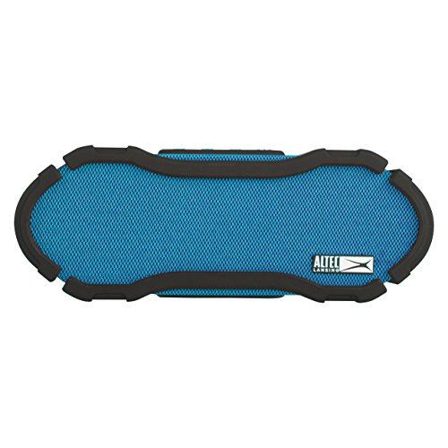 Altec Lansing IMW778-BLU OmniJacket Ultra Waterproof Bluetooth Speaker, Blue