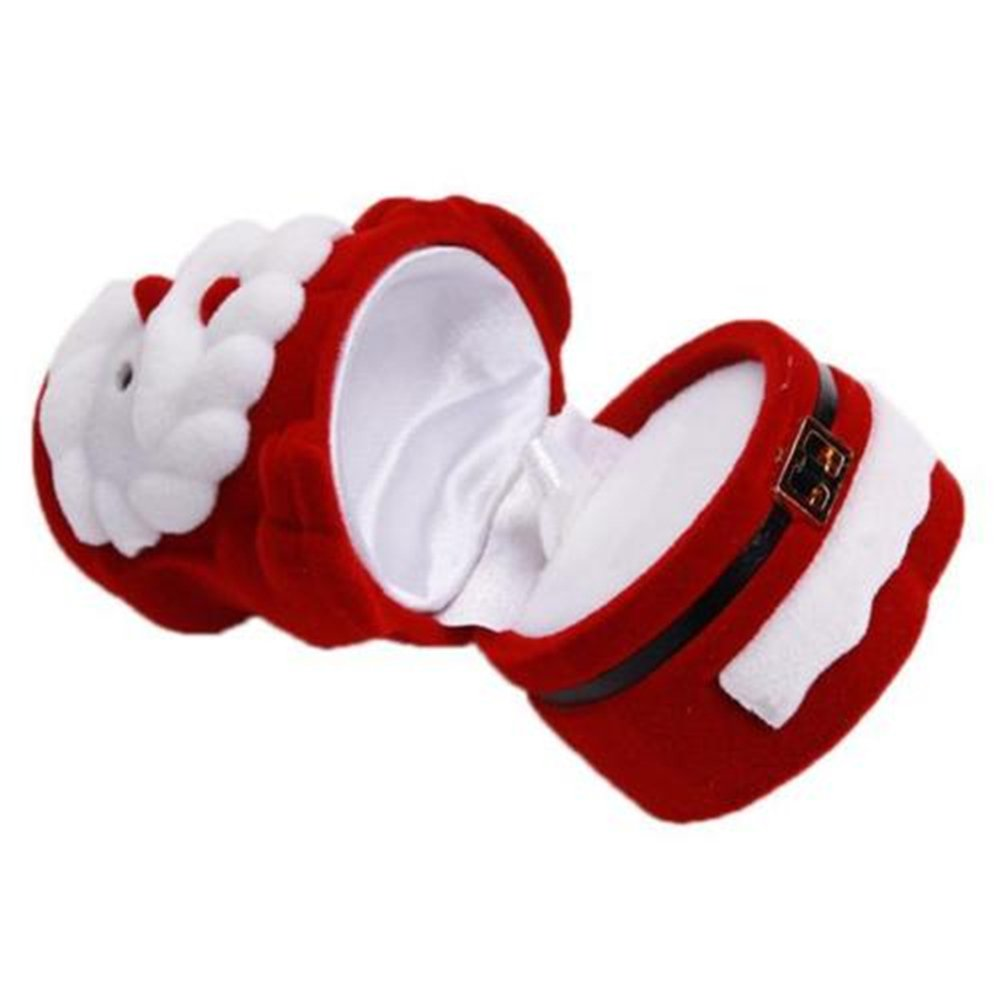 HENGSONG Santa Claus Design Christmas Small Gift Box Accessories Storage Case Mei_mei9 G-12