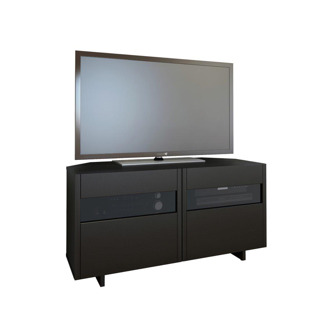 Vision 48-inch Corner TV Stand from Nexera, Black