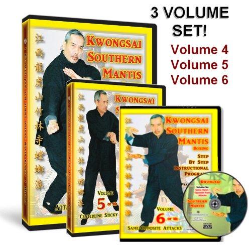 Southern Praying Mantis Kung Fu DVD Set: Volumes Four, Five, Six