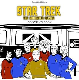 star trek the animated series coloring book for kids and adults - Star Trek Coloring Book