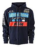 Troy Lee Designs Mens 2017 KTM Team LIC Hoody Zip Sweatshirt Medium Navy