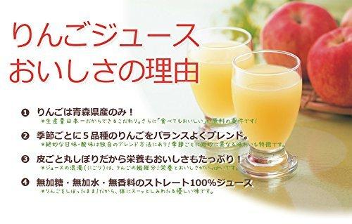 AoKen leaf Torazu apples 100 does not take apple juice 1000gX20 true leaf