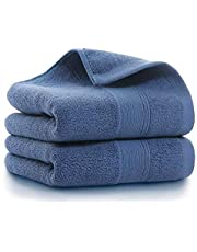 Hand Towels 14x30 inch, Home Ultra Thick Soft Cotton Bathroom Hand Towels for Bath Hand Face Gym and Spa, 2 Pack