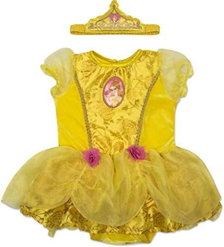 Disney Princess Belle Baby Girls' Costume Tutu Dress - Headband and Tights